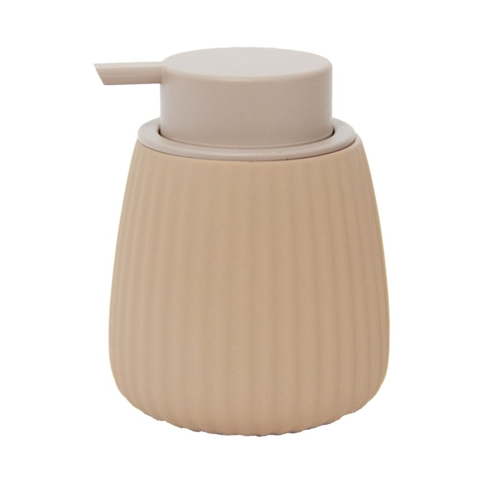Dispenser de Sabonete Líquido em Cerâmica com Bico Dosador