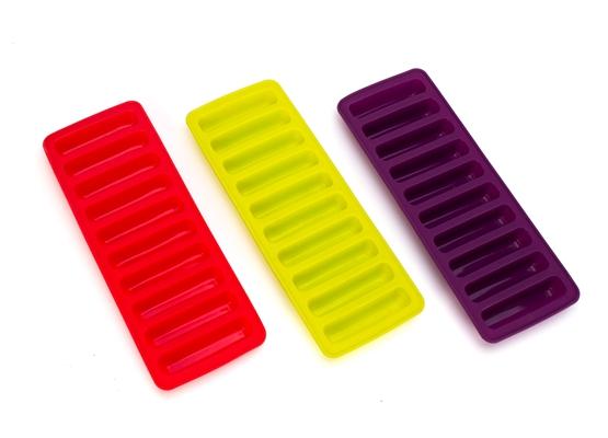 Forma de Gelo palito Flexível pra Garrafa 19x10,5cm