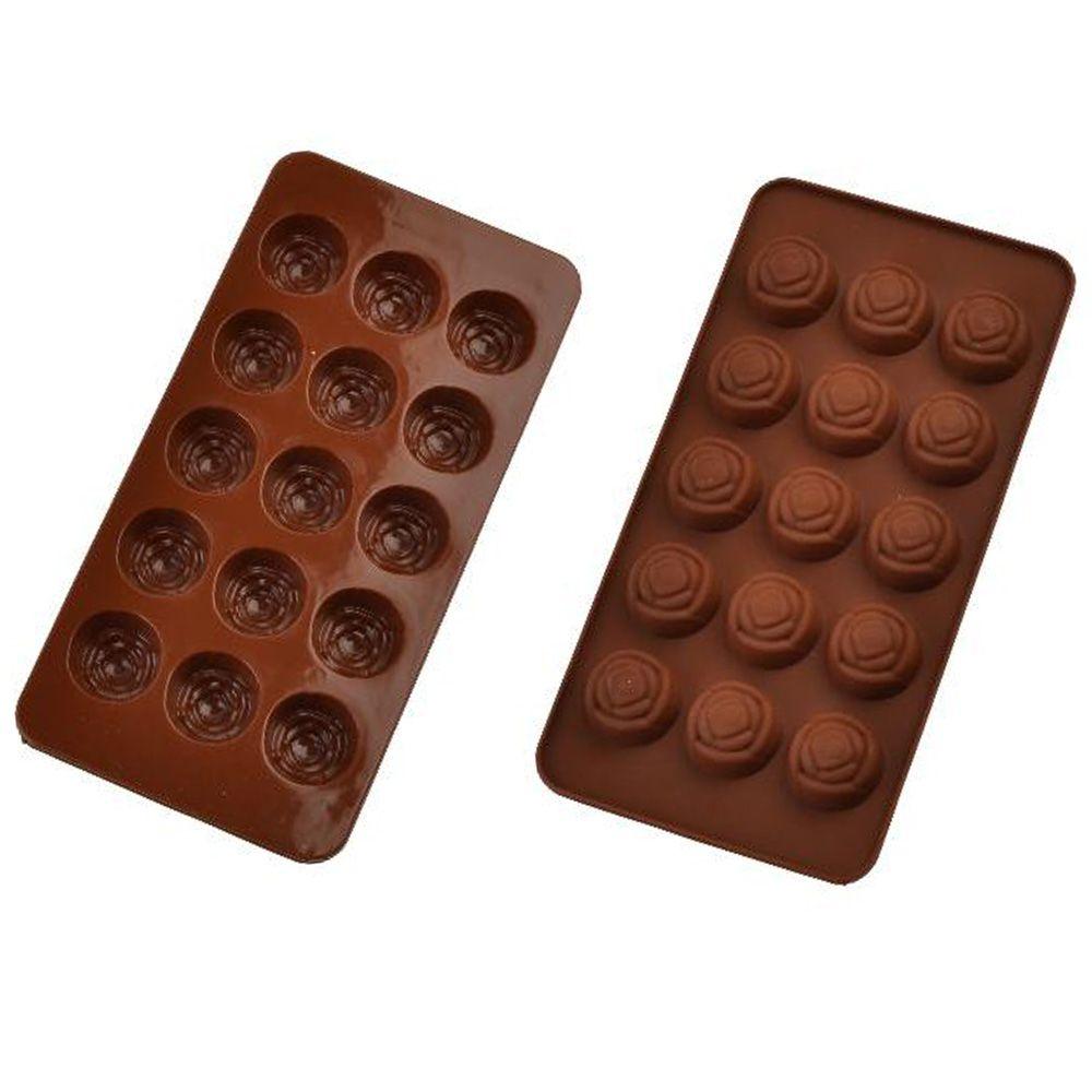 Forma de Silicone para Chocolate  modelos diversos Molde 5ml