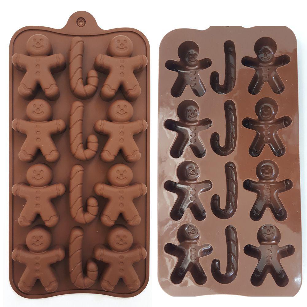 Forma de Silicone para Chocolate - modelos diversos