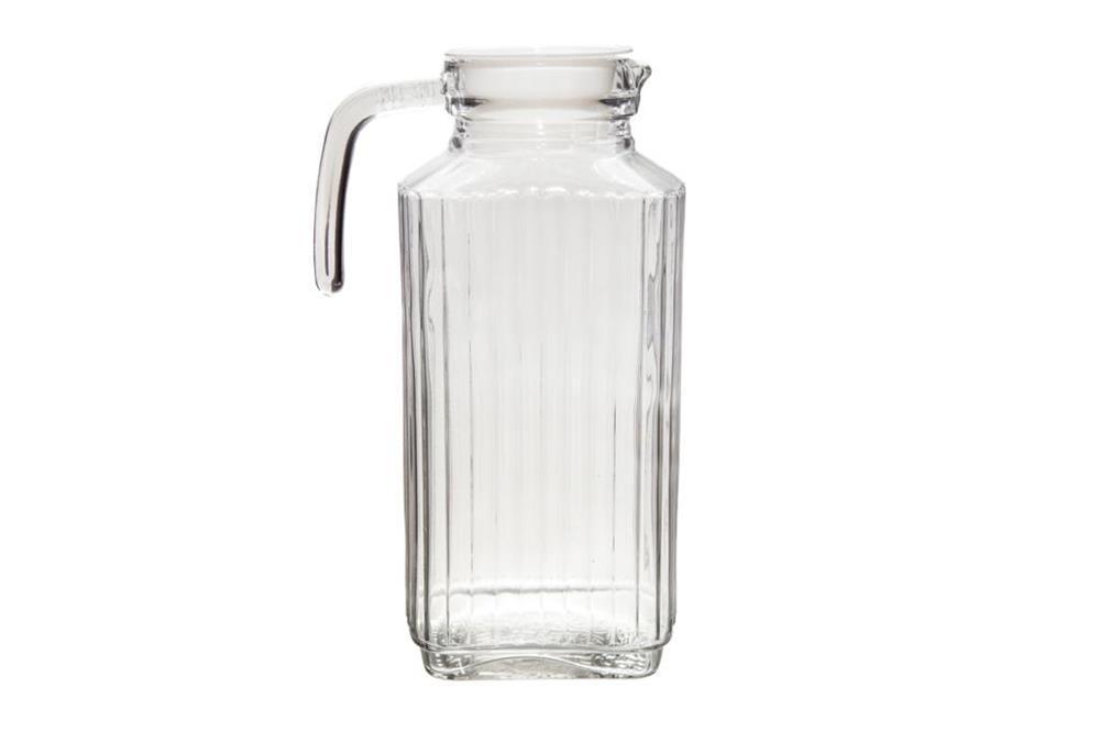 Jarra de Vidro Para Suco e Agua Boston com Alça 1,8 L