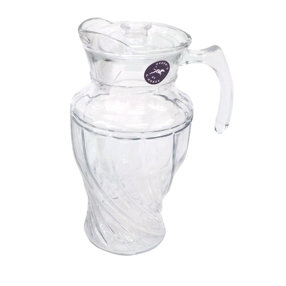 Jarra De Vidro London Para Suco E Agua Com Tampa 1,5 L