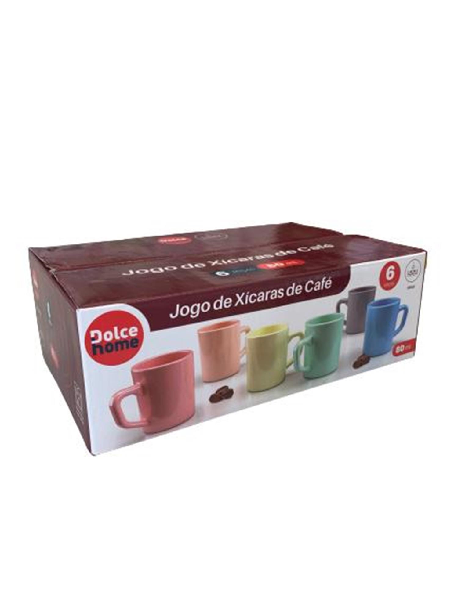 Jogo De XÍcaras De Café 80ml