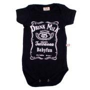 Body Bebê Infantil Drink Milk