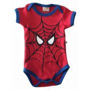Body Bebê Infantil Homem-Aranha