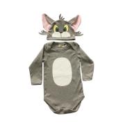 Body de Bebê Infantil Gato Tom  ( PERSONAGEM TOM E jERRY )