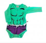 Body de Bebê Incrivel Hulk Milkfun