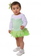 Body de bebê infantil  Fada Sininho com aplique e laço