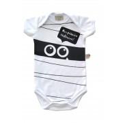 Body de bebê Mumia Halloween