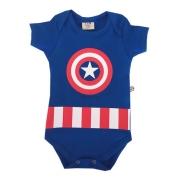 Body De Bebê Personagens Capitão America
