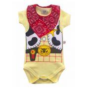 Body para Bebê TOY STORY COWBOY WOODY com bandana
