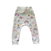Calça de Bebê Saruel Arco-iris