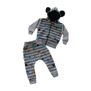 Conjunto de moletom Infantil Mickey Picolé