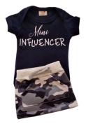 Conjunto Mini Influencer com mini Saia Camuflada