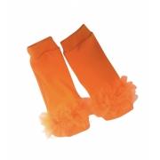 Polaina / meia  de bebe  Dia das Bruxas Abobora / Halloween fantasia laranja