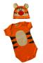 Body Bebê Infantil Tigrão Lançamento