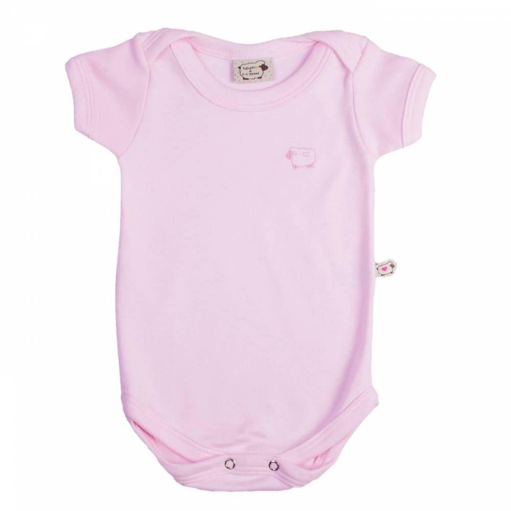 Body Bebê Infantil Basic todas as cores