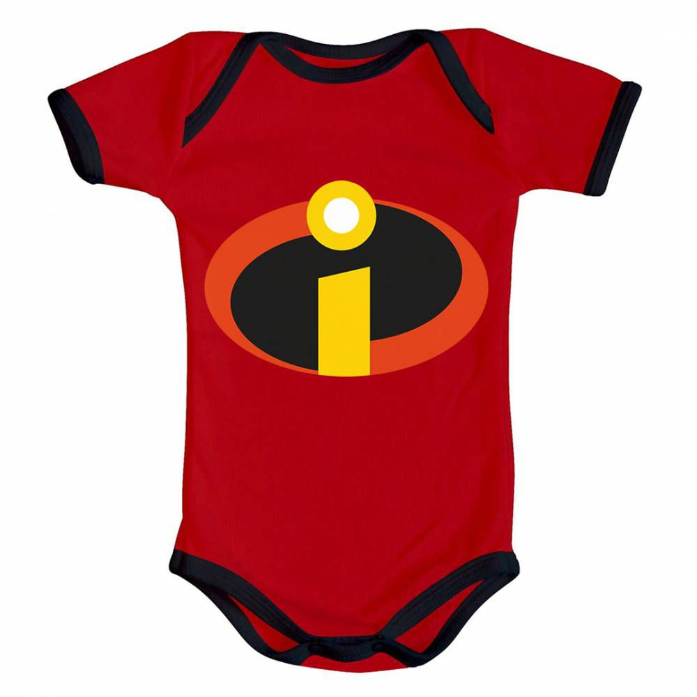 Body Bebê Infantil Os Incríveis