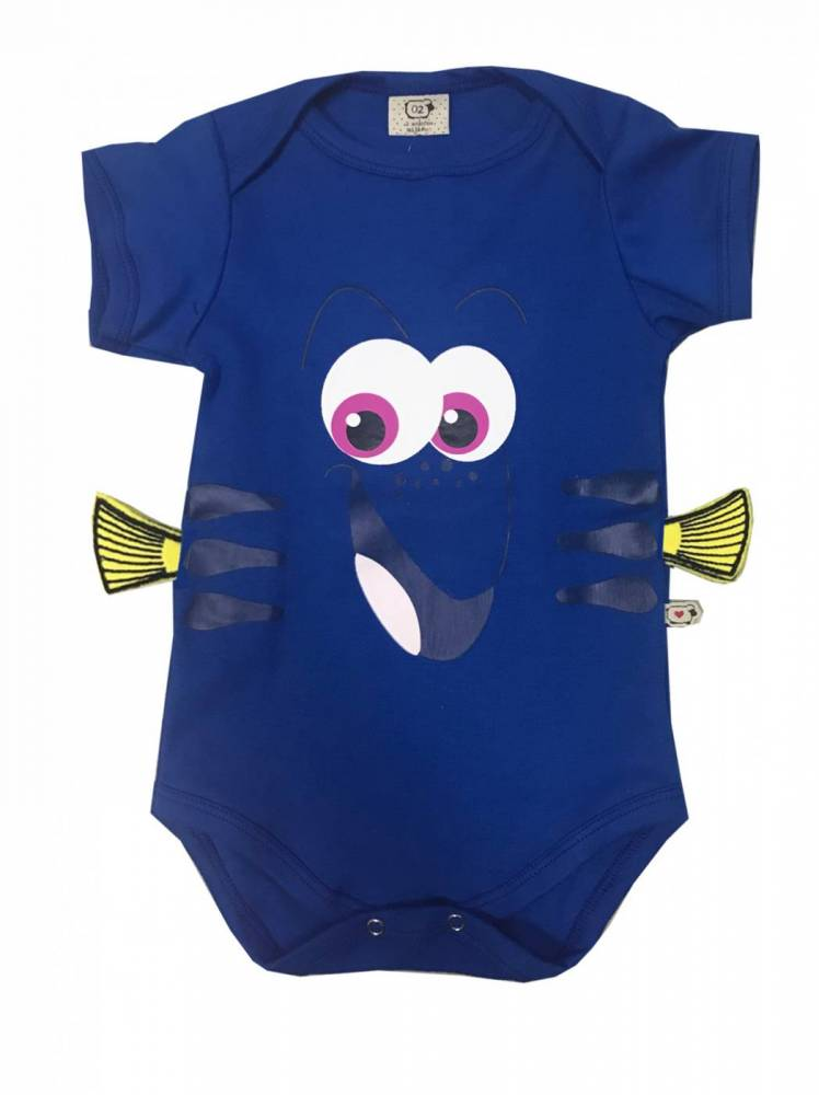 Body Bebê Infantil Dory