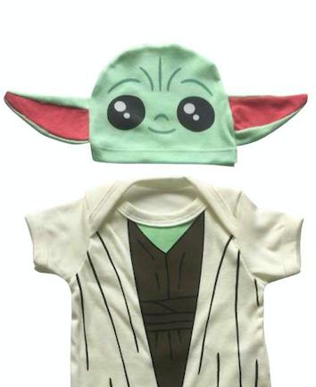 Body de bebê baby Yoda