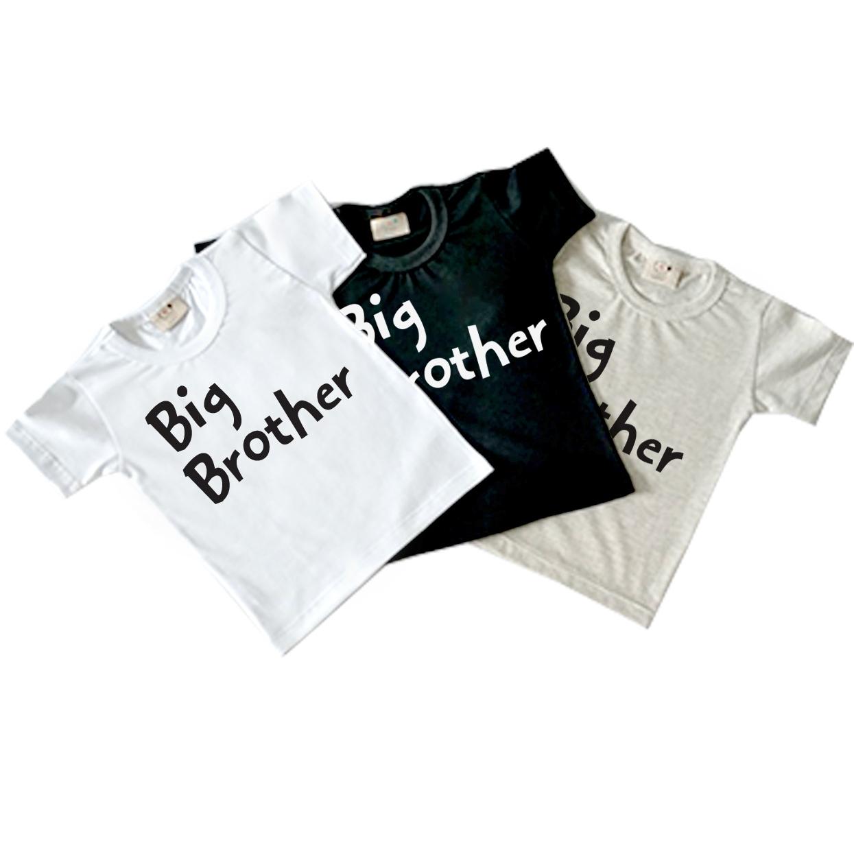 Body de bebe infantil Big brother / irmaozao