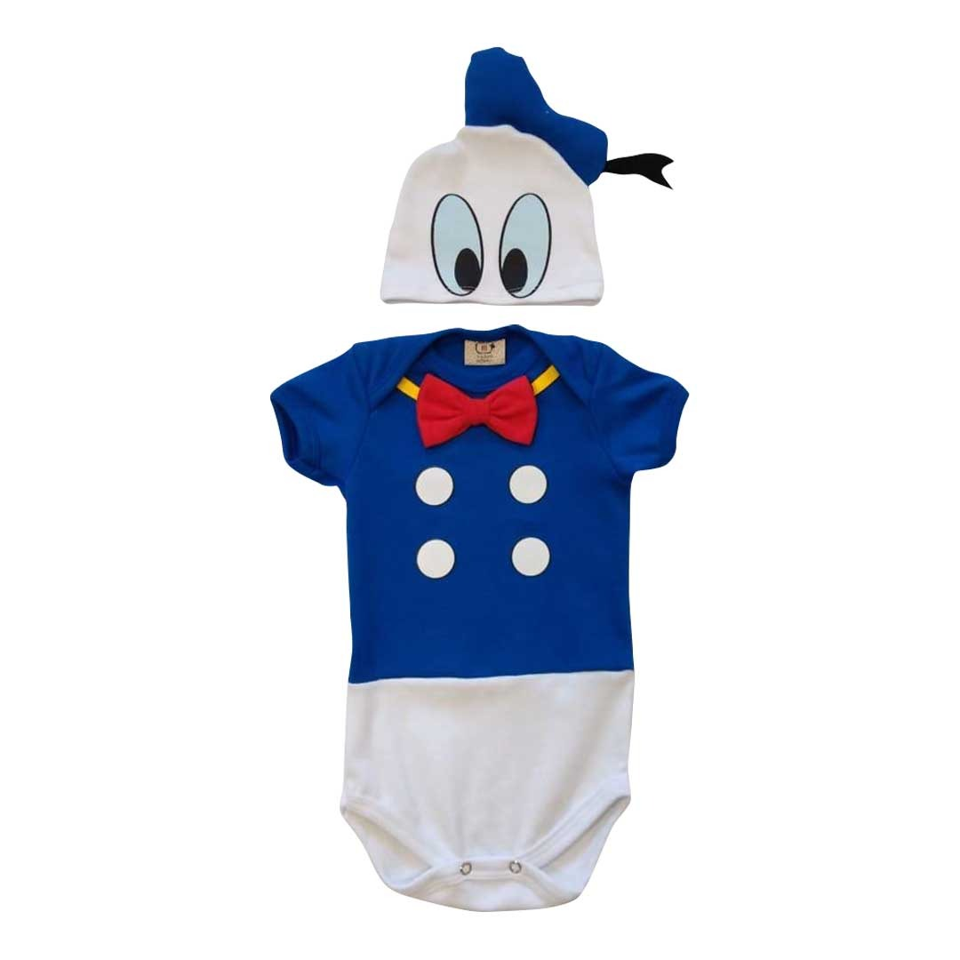 Body de bebê Pato Donalds