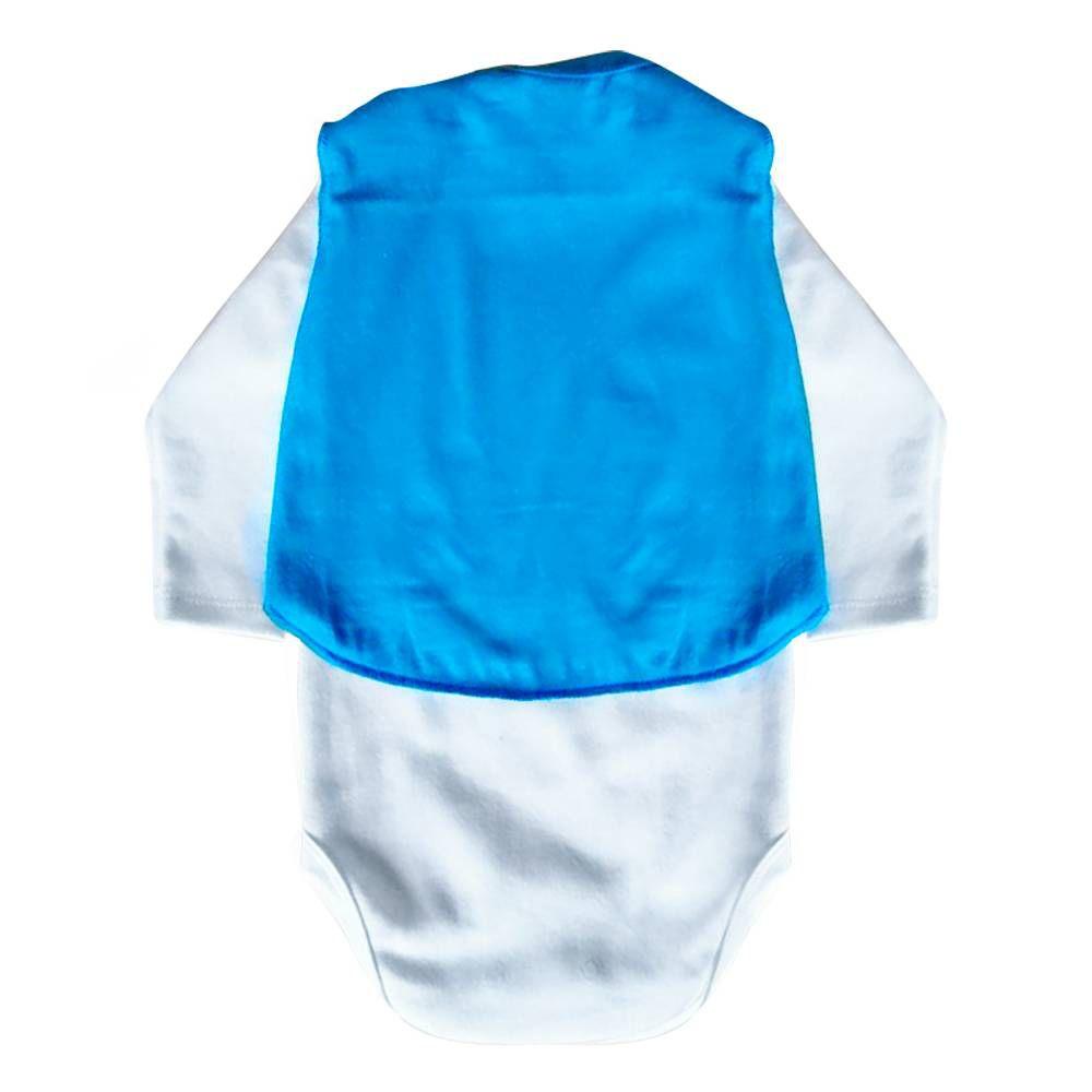 Body de Bebê Super Ajudante Coelhinho com Capa