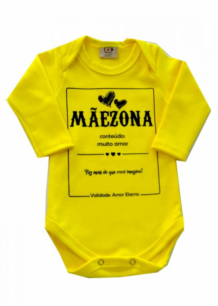 Body Infantil  Mamae Maezona