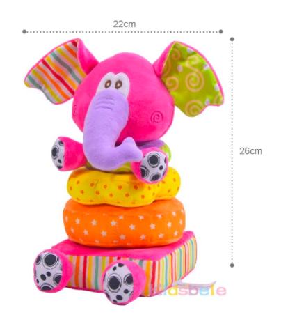 Brinquedo infantil de Encaixe para bebê