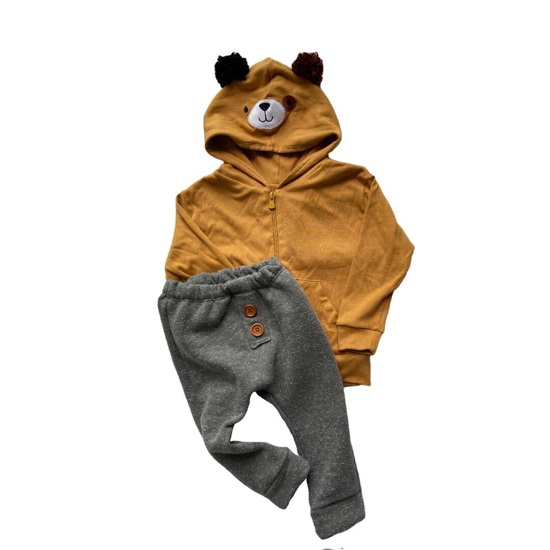 Conjunto de bebê urso Teddy