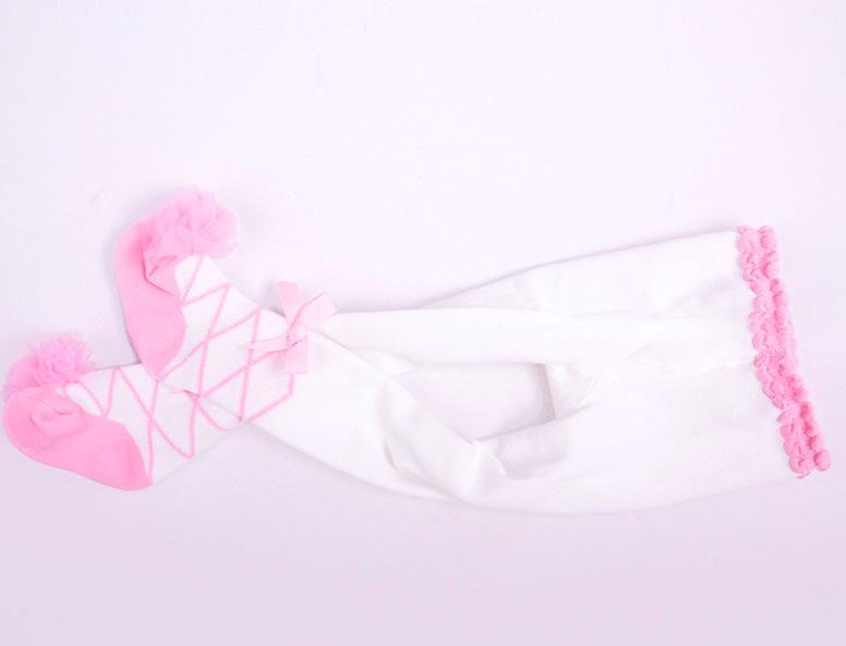 Meia calça bebê bailarina