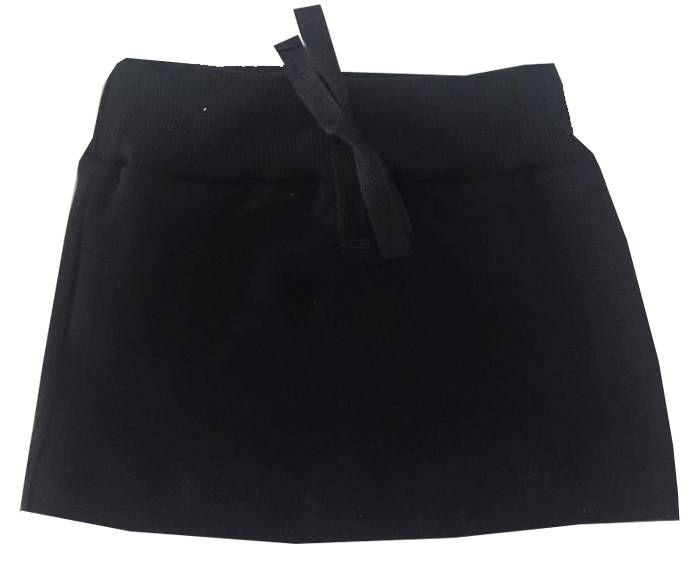 Mini saia Basic Preta