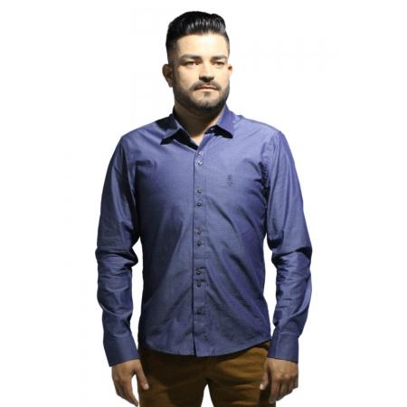 Camisa Servos Maquinetada Traços