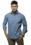 Camisa Servos Slim Confort Estampada