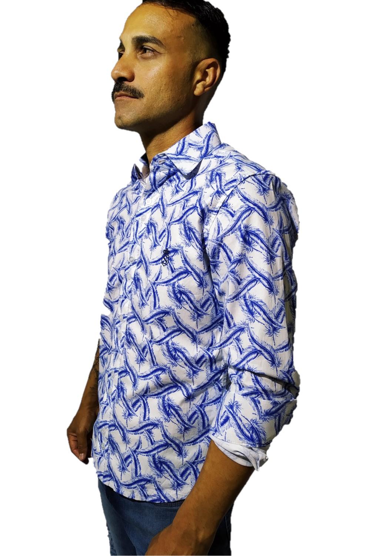 Camisa Servos Estampa Floral