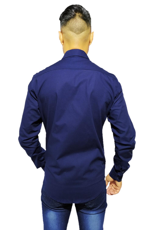 Camisa Servos Lisa Elast.