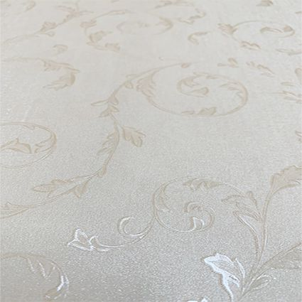 Papel de Parede 060403 - Floral Arabesco Bege
