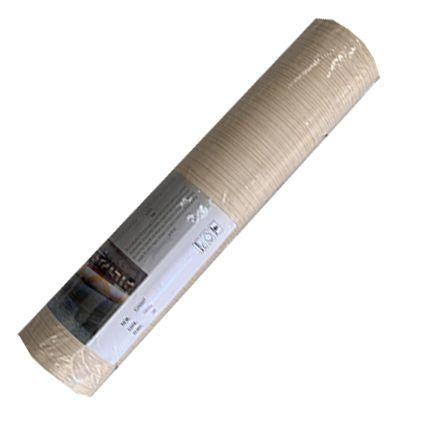 Papel de Parede 060605  - Bege Texturizado com linhas verticais