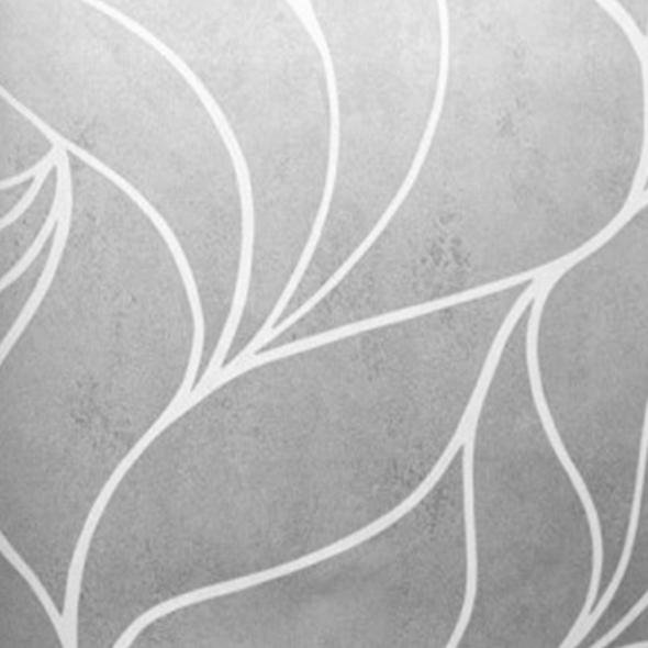 Papel de Parede importado Italiano - Coleção Brera - 81201 - Prata e Off White