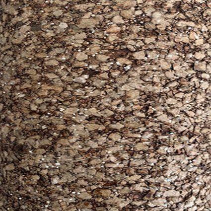 Papel de parede MICA – Pedra Prensada - 3502 - Marrom / Dourado