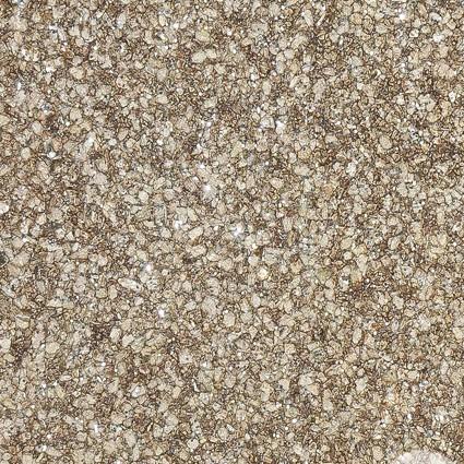 Papel de parede MICA – Pedra Prensada - Marrom / Dourado com brilho - 3503