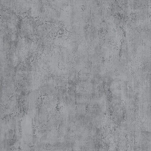 Papel de Parede Vinílico Contemporâneo Industrial - Cimento Queimado Cinza Escuro REF- 4144