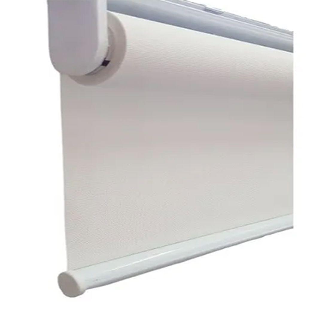 Persiana Tela Solar 3% Screen Branco / Off White - 1.00 m larg x 2.30 m alt