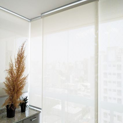 Persiana Tela Solar 3% Screen Branco / Off White
