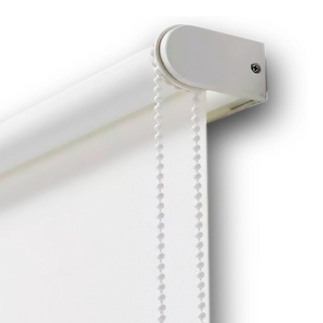 Persiana Tela Solar 3% Screen Branco / Off White