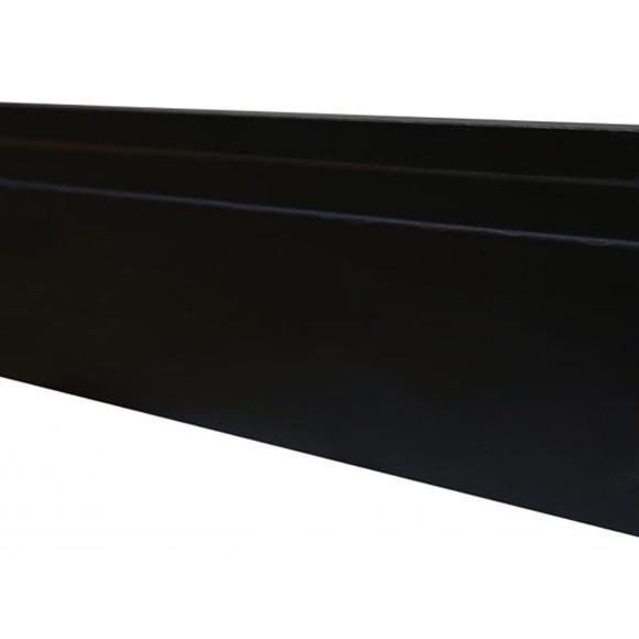 Rodapé MDF Preto 10 cm - 1 friso