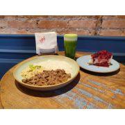 Combo de Picadinho de Filet Mignon ao molho Roty - Salada- Suco- Sobremesa