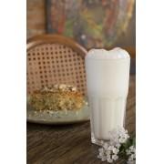 Iogurte com água de flor de laranjeira