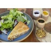 Torta de Palito com Salada
