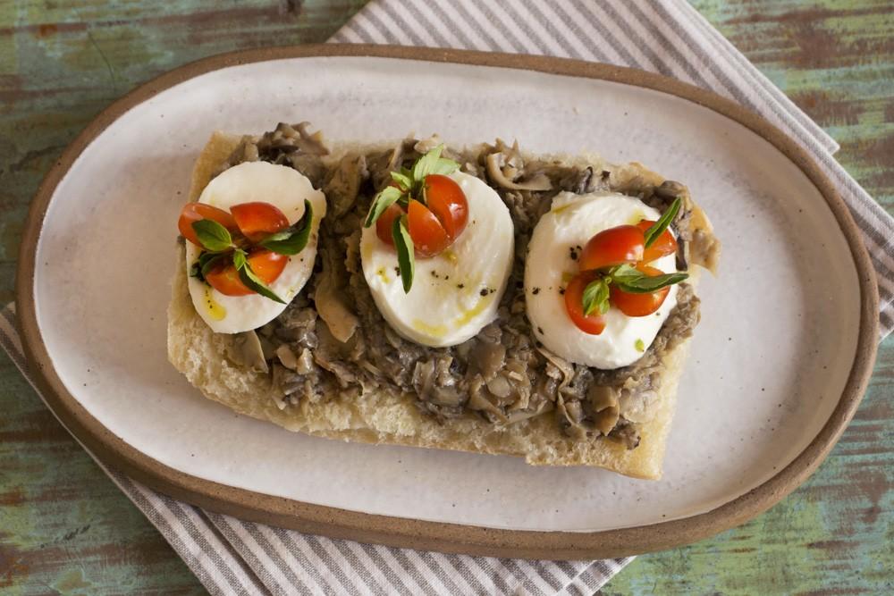Tartine de Cogumelos